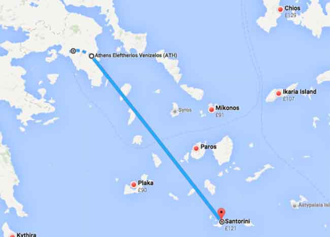 How To Get From Athens To Santorini In SantoriniSecrets - Where is athens