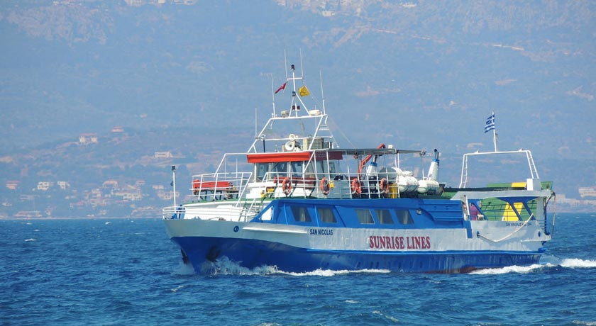 Chios - Cesme - Chios ferry