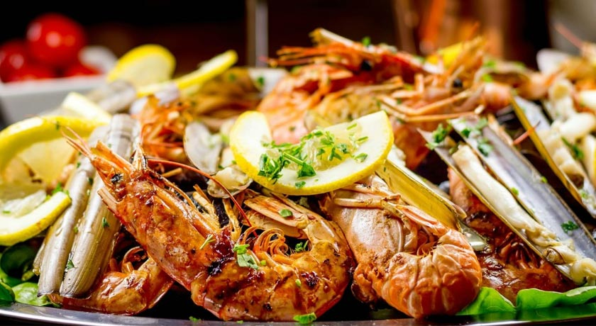 Seafood places in Chios