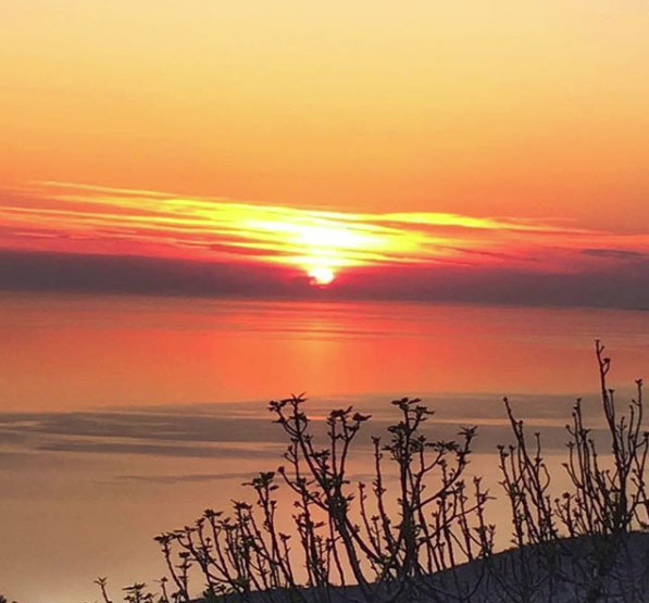 Sunset Chios