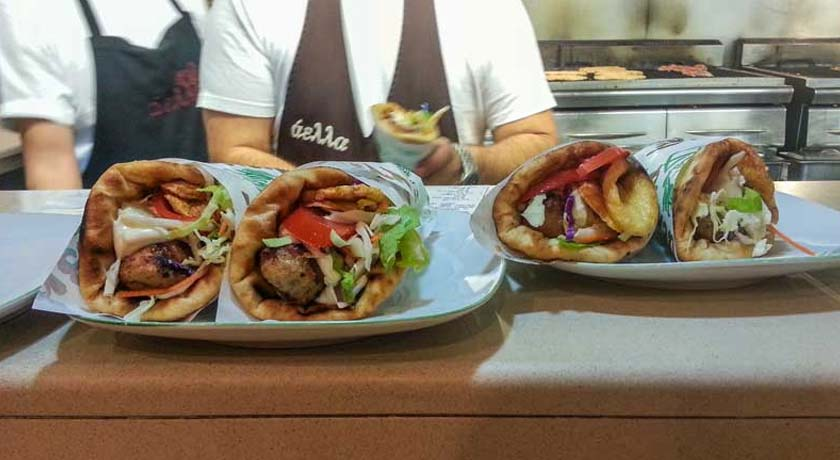 Best Souvlaki in Chios Town
